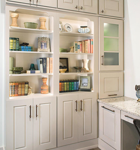 49 Wellborn Cabinet Home Office Design Ideas & Remodel Pictures | Houzz