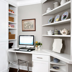 traditional home office by Wentworth, Inc.