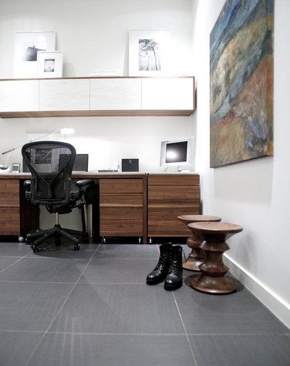 Modern Home Office by Gaile Guevara