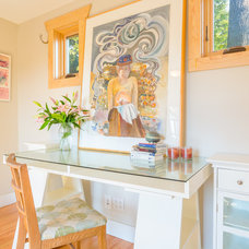 Beach Style Home Office by Cassie Daughtrey Realogics Sotheby's Realty