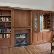 Traditional Home Office by Citation Kitchens