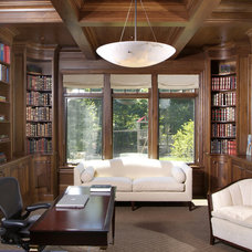 Transitional Home Office by Visbeen Architects