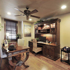 Traditional Home Office by Capstone Custom Homes
