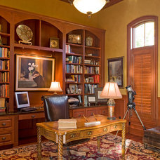 Traditional Home Office by Pillar Custom Homes, Inc.
