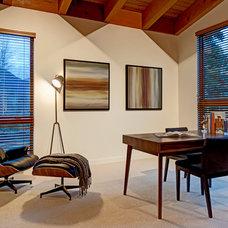 Modern Home Office by Maza Interior Design