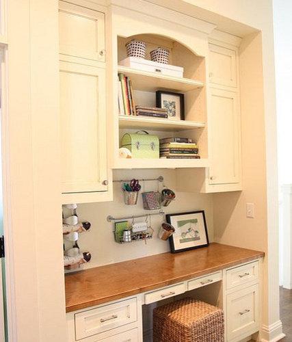 Best Kitchen Office Space Design Ideas  Remodel Pictures  Houzz