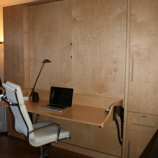Contemporary Home Office by Murphy Bed Concepts, Inc.