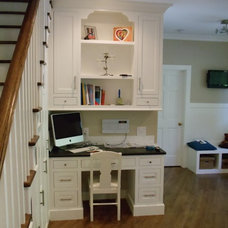 Traditional Home Office by Acworth Cabinet, Inc
