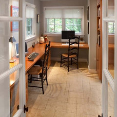 traditional home office by CARNEMARK