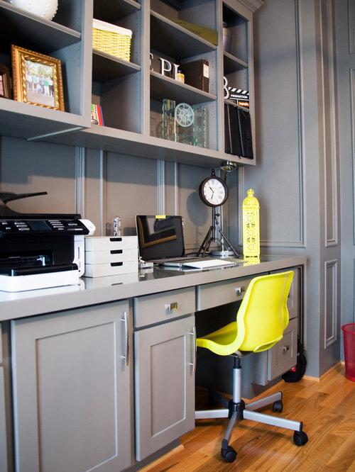 traditional tudor contemporary home office design photos
