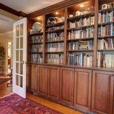 Craftsman Home Office by J. S. Perry & Co., Inc.