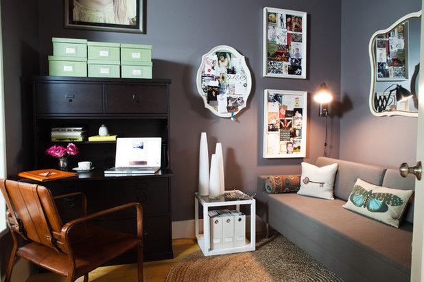 Eclectic Home Office Williamsburg (Brooklyn) Loft