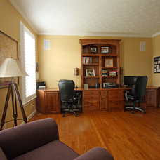 Traditional Home Office by Sara Ballinger - 1130 Creative, LLC