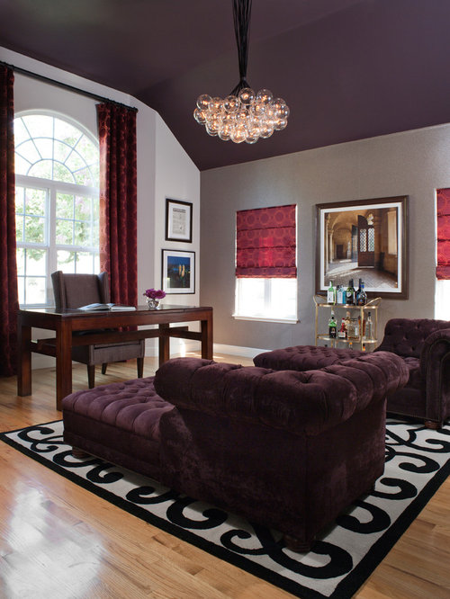 how to put an accent over a letter metallic purple paint home design ideas pictures remodel 10803