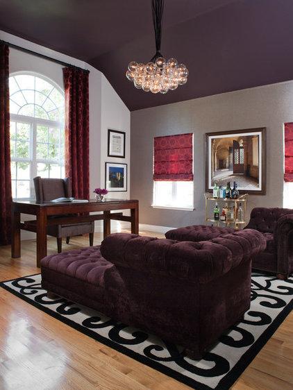 Deep purple dreams for rooms for Deep purple bedroom ideas