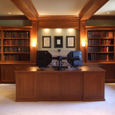 Traditional Home Office by Change Design Group