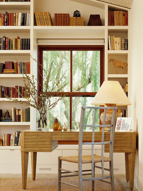 Bookcase Around Windows Houzz