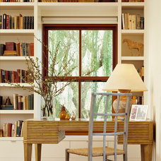 Transitional Home Office by Melander Architects, Inc.