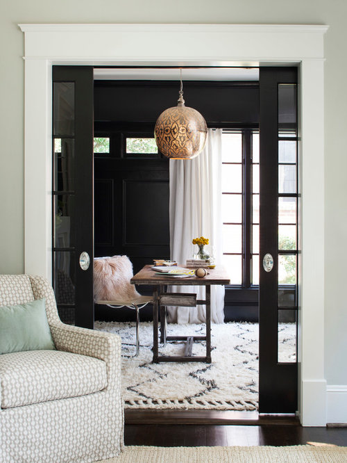 sherwin williams tricorn black ideas pictures remodel and decor. Black Bedroom Furniture Sets. Home Design Ideas