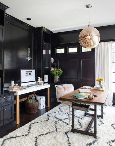 Classique Chic Bureau à domicile by Terracotta Design Build