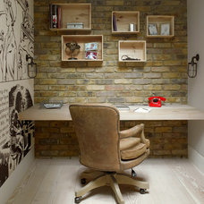 Transitional Home Office by STEPHEN FLETCHER ARCHITECTS