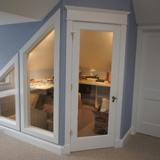 Traditional Home Office by Matthew Bowe Design Build, LLC