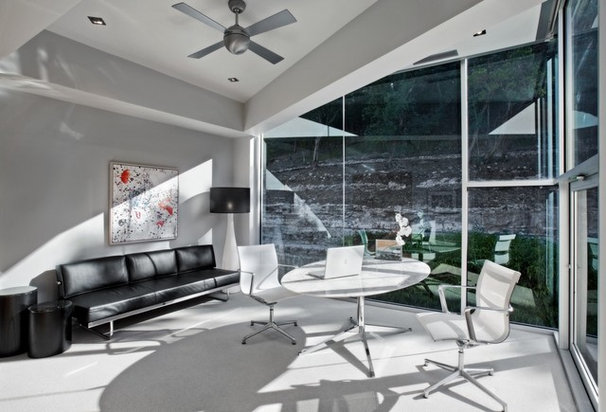 Contemporary Home Office by Winn Wittman Architecture
