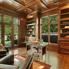 Traditional Home Office by Heritage Luxury Builders