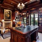 Luxury Model Home Traditional Office Cincinnati