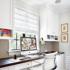 traditional home office by Alan Design Studio