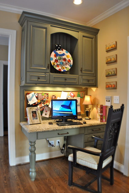 traditional home office by Mike Smith / Artistic Kitchens