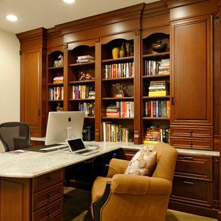 Inspiration For A Timeless Home Office Remodel In DC Metro