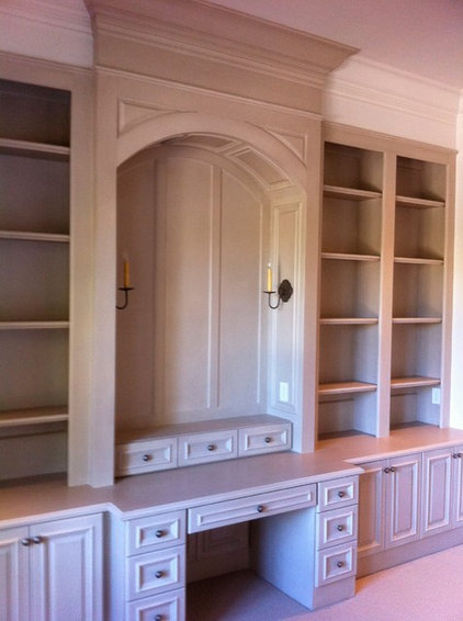 Traditional Home Office by Gilreath Decorative Finishes, Inc.