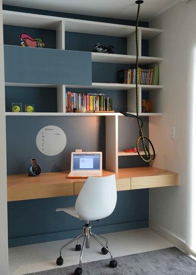 Contemporary Arbetsrum by Ba Design Group