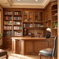 Traditional Home Office by Woodecor Ltd