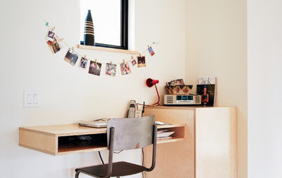 The Home Office Nook: File It Under 'Space Saver'