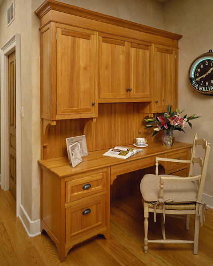 Traditional Home Office by Witt Construction