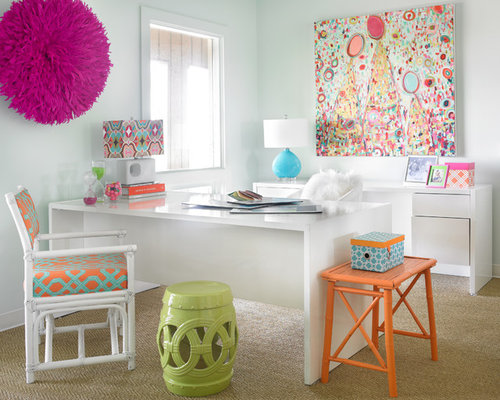 Home Office Color Schemes Design Ideas  Remodel Pictures  Houzz