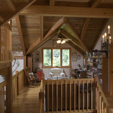 Traditional Home Office by Habitat Post & Beam, Inc.