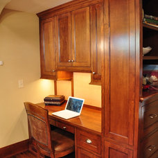 Traditional Home Office by Woodstone Renovation LLC
