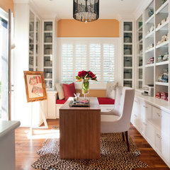contemporary home office by Miller Design Co.