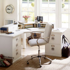 Traditional Home Office by Pottery Barn