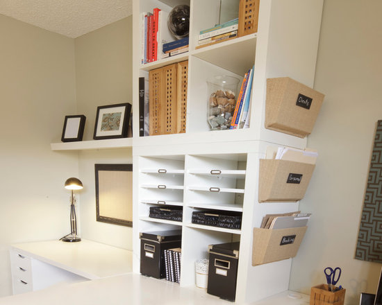 Ikea Hack Home Office Design Ideas, Remodels & Photos