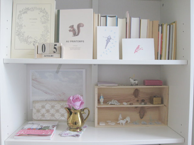 Shabby-chic Style Home Office by Iris