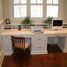 Traditional Home Office by Heard Woodworking & Custom Cabintry, LLC.