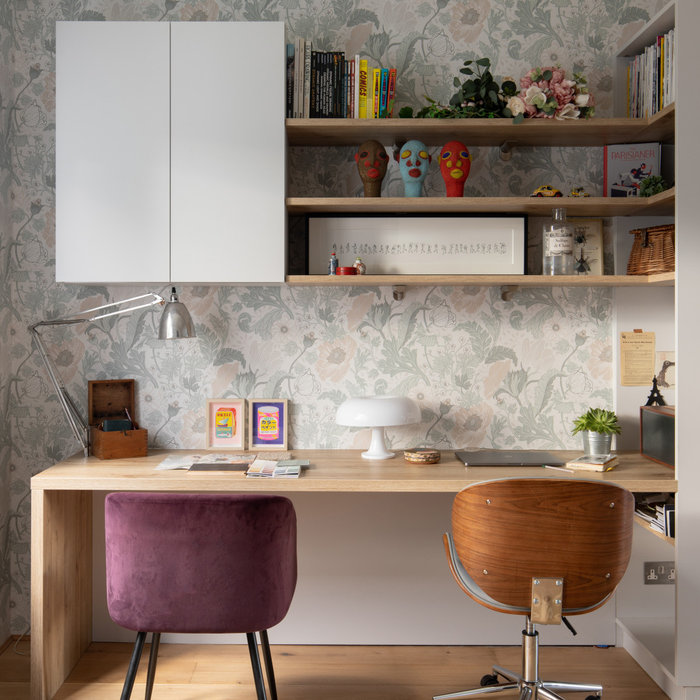 Working from home - how to blend an office within an open plan