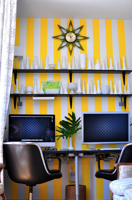 eclectic home office by Frisson