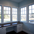 Woodshop Traditional Home Office New York By Rikki