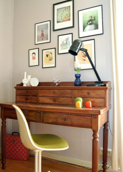 Midcentury Home Office by Kaylovesvintage