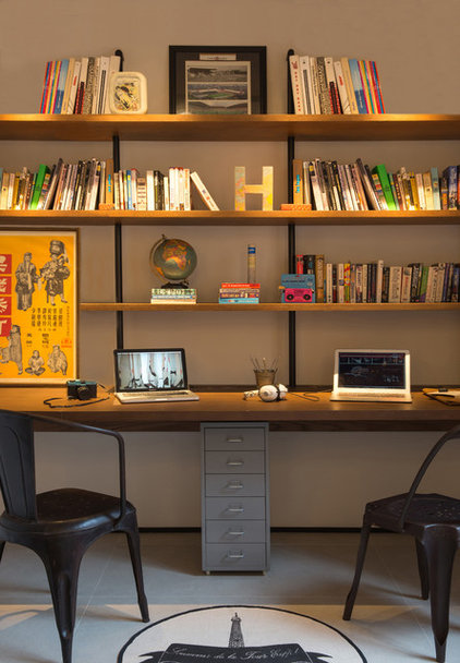 Industrial Home Office by Chinc's Workshop